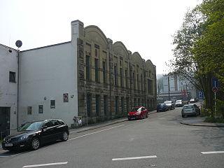 Altes Industriegebäude in der Wuppertaler Klophausstraße