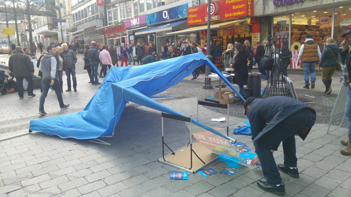 Betreibt die Stadtspitze Anti-AfD-Hetze?