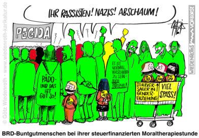 Grünen-Fraktionschef Schulz: Linksextremisten-Freund und Mimose in einer Person