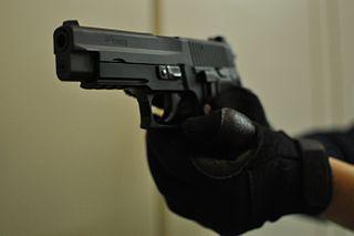 """Logo der """"Pistole"""