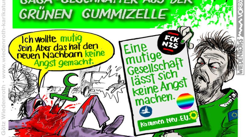 Selbstbeweihräucherung des polit-medialen Komplexes: Grünen-Chef Habeck in Barmen