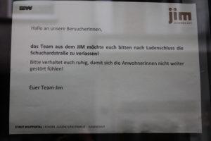 """Barmen: """"Kulturbereicherung"""" am Jugend-Café """"JiM"""""""