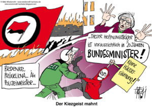 Nach Demo-Wochenende der Extremisten: Linksfront will Polizei besudeln