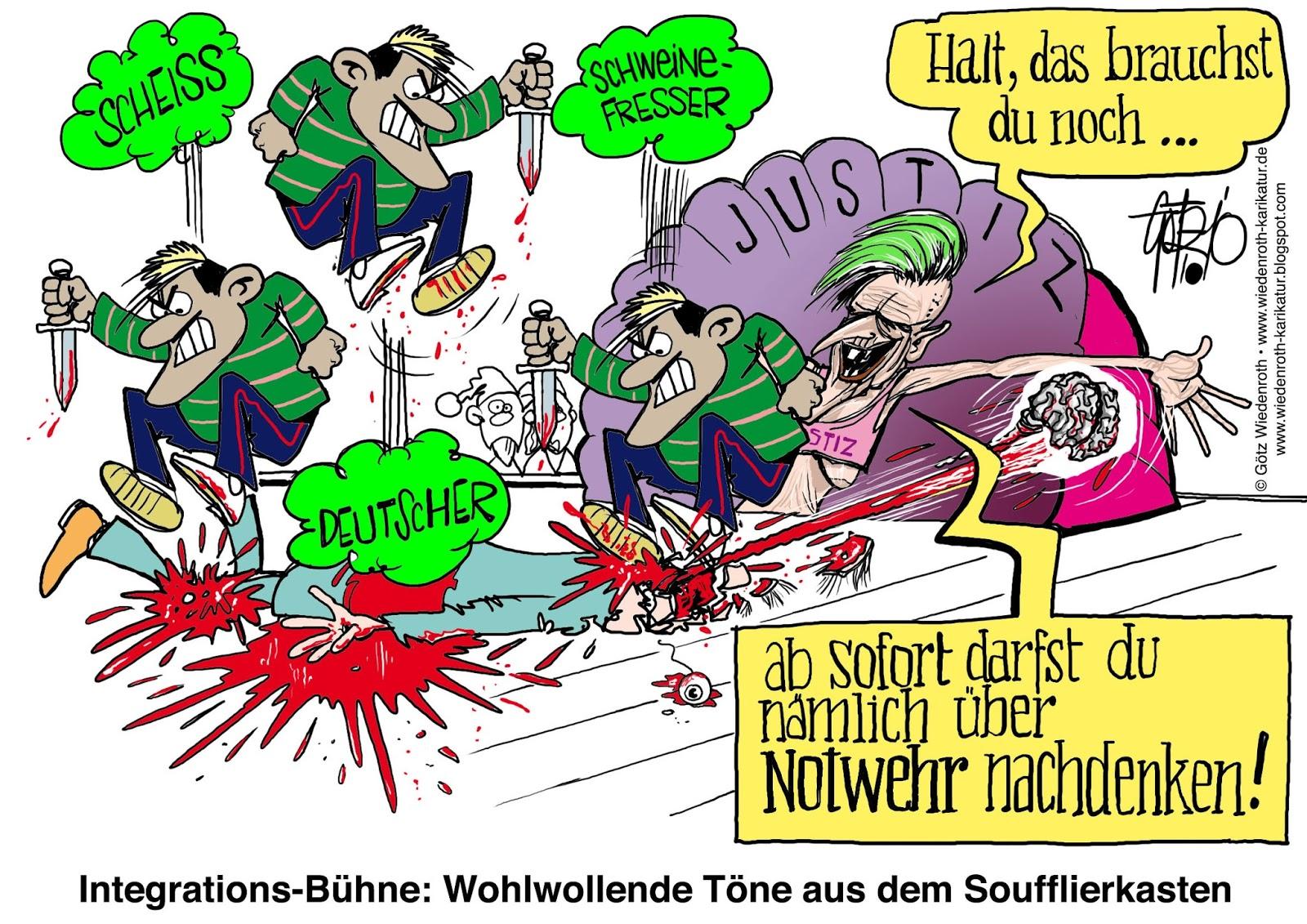 """Lügenpresse: """"Wuppertaler Rundschau"""" unterschlägt offenbare """"Kulturbereicherung"""" im """"Haus der Integration"""""""